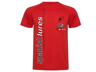 Camiseta RespectLife Delantera Roja